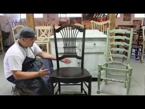 Furniture Finishing Rub Through Technique  Explained