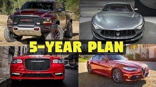 Fiat-Chrysler Upcoming 5-Year Plan (2018-2023) - New Models & Technology!