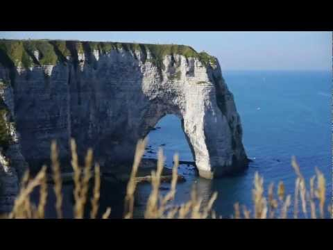 Falaises Etretat, Haute Normandie, France