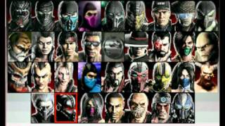 Select Screen New MK Classic™MK 9 Remake®