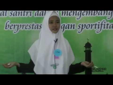 TERBAIK !!! Aksi Sang Juara Pidato Bahasa Inggris ( Syifa Azzahra )