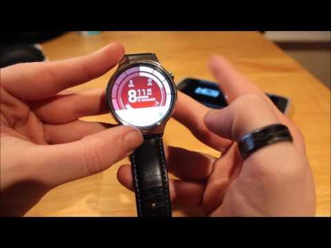 Huawei W1 smartwatch Review 2016