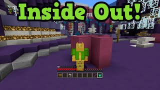 Minecraft Xbox 360 + One Inside Out Hide and Seek