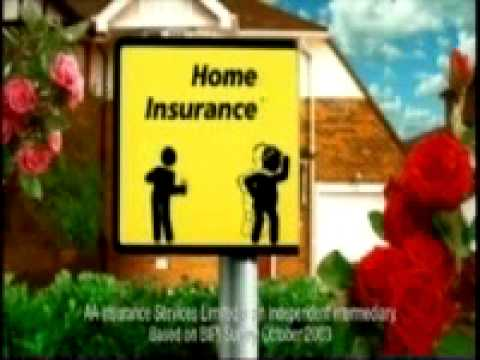 The AA Home Insurance 'Whistle' Advert - YouTube