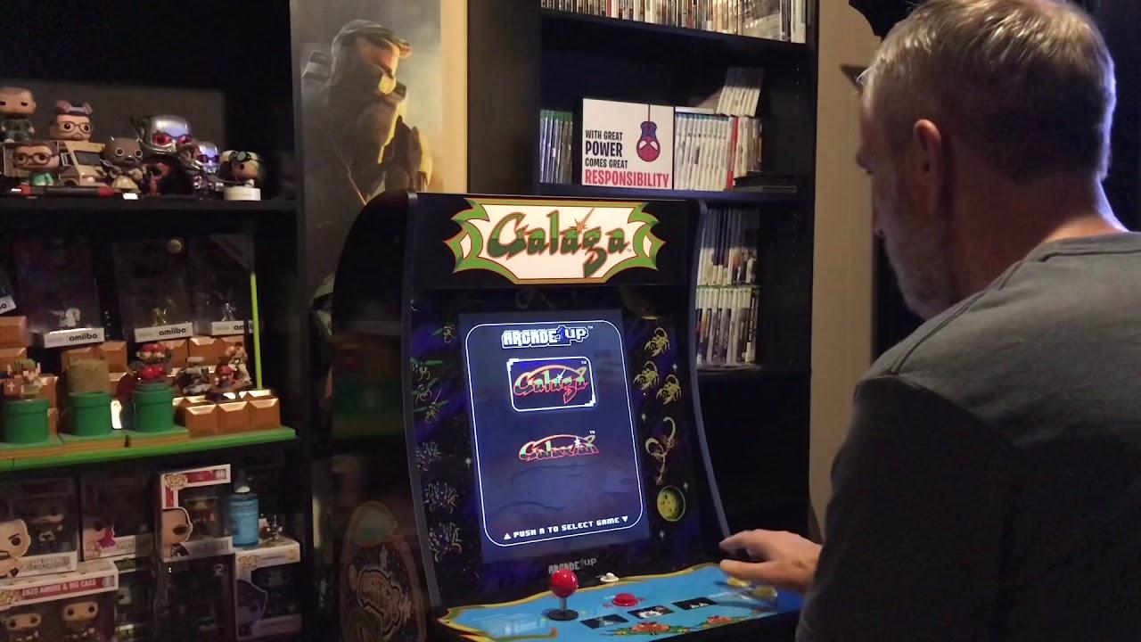 Arcade 1up Galaga Cabinet Walmart Exclusive Youtube