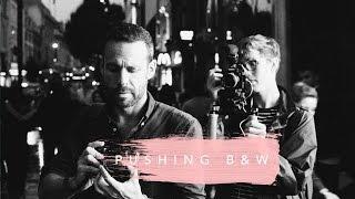 Pushing Black and White Film