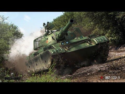 Танкосмотр2019 #39. Китай. Легкие танки (веткa WZ-132-1)   World Of Tanks