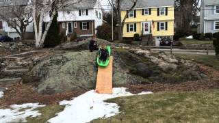Last Sled of the winter, at Easter!