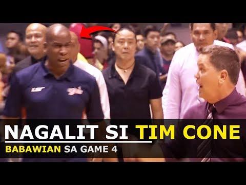 COACH TIM CONE, BINASTOS NG MERALCO | Coach Tim vs Coach Norman |PBA News