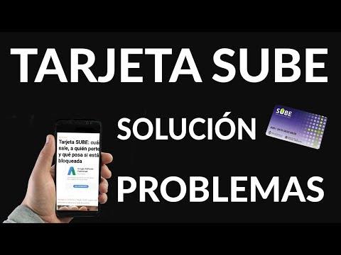 Cómo Solucionar Problemas de la Tarjeta SUBE Argentina