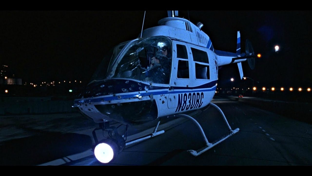 Terminator 2  Helicopter Chase L 4k