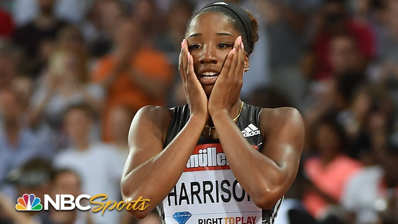 American Keni Harrison wins silver medal, finds redemption in 100 ...
