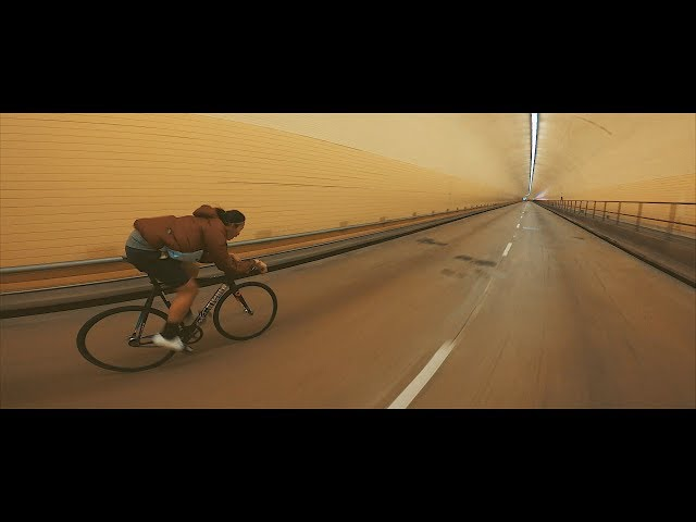 Patrick Clocks Out of Work   Another Fixed Gear Short 02/21/18