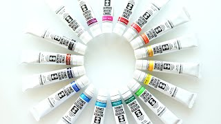 Setting up a Gouache Palette - Turner Designer Gouache - Mijello Airtight Watercolor Palette