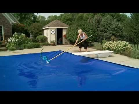 POOL COVER CARE AND CLEANING