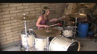 Download Video Lindsey Raye Ward - 30 Seconds To Mars - Closer To The Edge (Drum Cover) MP3 3GP MP4