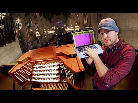 Controlling A MASSIVE Pipe Organ With My Computer