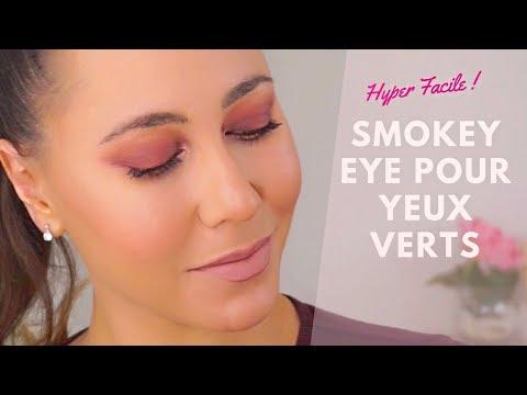 Comment faire un maquillage de soirée pour les yeux verts facile ?