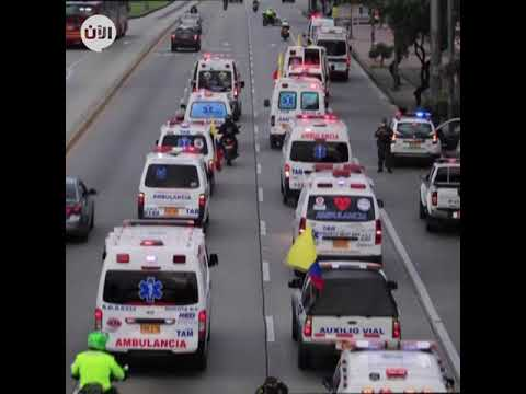 عمال الصحة في كولومبيا يحتجون على تأخر الرواتب وسط تفشي كوفيد 19  - نشر قبل 9 ساعة