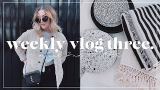 H&M HOME HAUL + VEGAN GROCERY SHOPPING | WEEKLY VLOG #3 | I Covet Thee