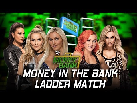 WWE Money in the Bank 2017 - Women's Money in the Bank Ladder Match