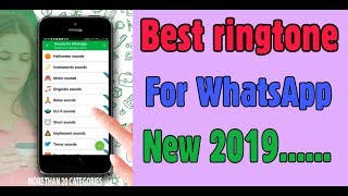 Best ringtone for whatsapp 2019 by yamraj technical