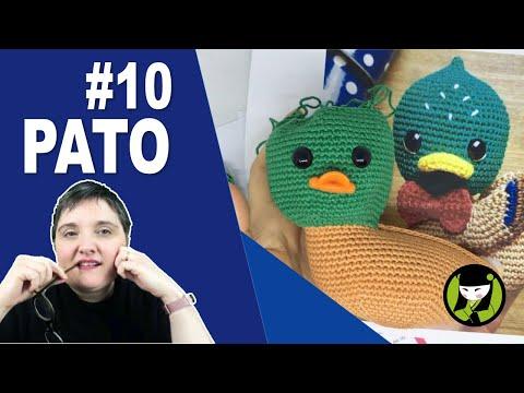 Pato amigurumi 10