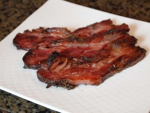 What can you make with ground beef and bacon