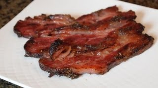 How To Make Beef Bacon!