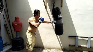How to punch hard relaxing in boxing