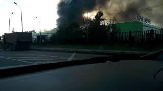 Пожар горит рынок Синдика сейчас