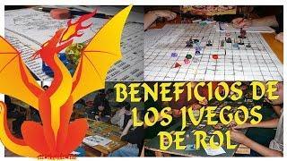 BENEFICIOS DE LOS JUEGOS DE ROL | por Tierras de Rol y PsicoVlog