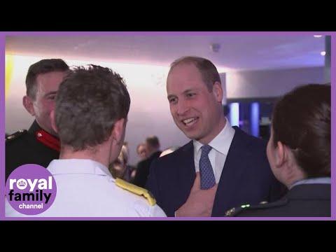 Prince William Jokes about Spreading Coronavirus on Dublin Visit