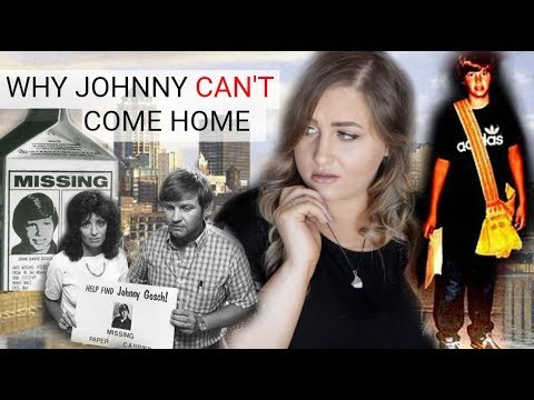 WHERE IS Johnny Gosch?! Why Johnny CAN'T Come Home....
