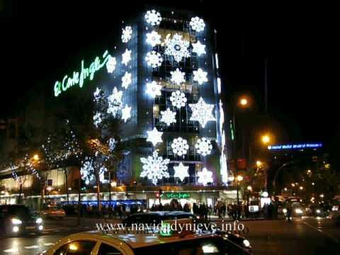 Navidad 2010 madrid el corte ingl s de princesa youtube for El corte ingles navidad