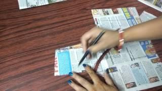 Single katori blouse marking and cutting