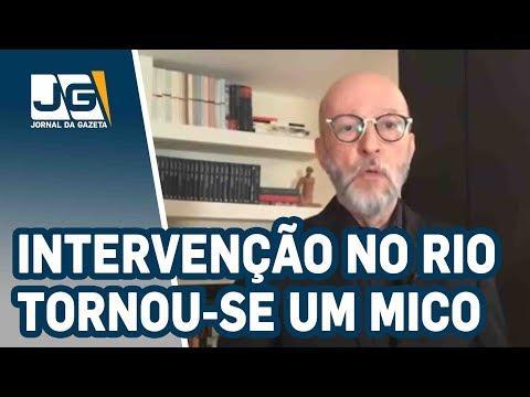 Josias de Souza/Intervenção federal no Rio tornou-se um mico