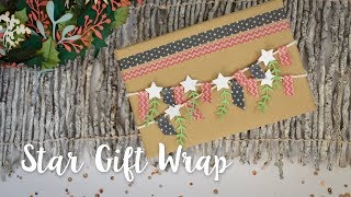 How to Make Star Gift Wrap - Sizzix Lifestyle