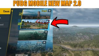 PUBG MOBILE NEW UPDATE NEW MAP ERANGLE 2.0 | ERANGLE 2.0 MAP RELEASE DATE