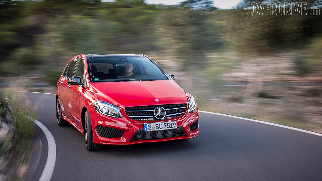 2015 Mercedes Benz B Class Facelift First Drive Review Youtube