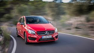 2015 Mercedes-Benz B-Class (facelift) - First Drive Review(Mercedes-Benz, after nearly two years, have given the B-Class a facelift. While the changes to the exterior are minimal, there are details which make the cabin ..., 2014-11-10T11:50:04.000Z)