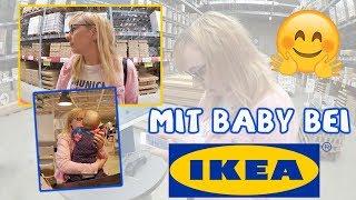 Marie isst Brei / Mit Baby bei Ikea /  FAMILIEN VLOG
