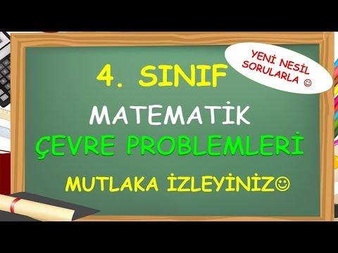 4. Sınıf Çevre Uzunluğu Problemleri - Yardımcı Öğretmen