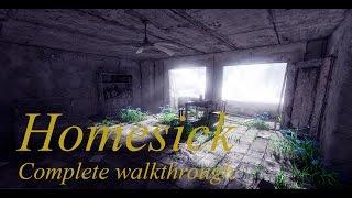 Homesick : Complete walkthrough . Полное прохождение.