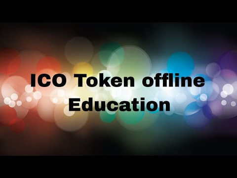 Let's Move These ICO Tokens OFFLINE - Live