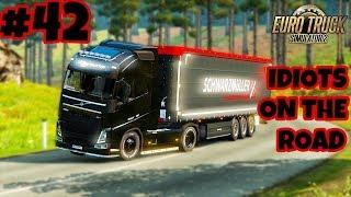 Euro Truck Simulator 2 Multiplayer: IDIOTS on the Road | Random & Funny Moments | #42
