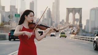 Monti - Czardas on the Brooklyn Bridge l 뉴욕 브루클린브릿지에서 바이올린 연주 영상