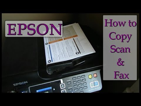 Epson Printer: Discover how you can scan, copy and fax - Imagine loving your printer (2 of 2)