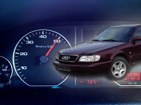 Audi A6 C4 2.0i / 0-100km/h