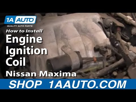 How To Install replace Engine Ignition Coil 2000-03 Nissan Maxima 3.5L